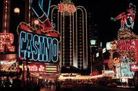 夜の繁華街 1992年 ラスベガス アメリカ