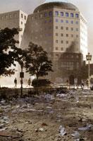 崩壊したビルのがれき NY アメリカ 2001年9月 02265007560| 写真素材・ストックフォト・画像・イラスト素材|アマナイメージズ