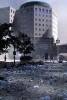 テロで崩壊したビルのがれき NY アメリカ 2001年9月 02265007570| 写真素材・ストックフォト・画像・イラスト素材|アマナイメージズ