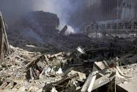 がれきと崩壊した建物 NY アメリカ 2001年9月 02265007585| 写真素材・ストックフォト・画像・イラスト素材|アマナイメージズ