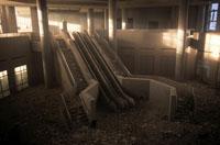 がれきと階段とエスカレーター NY アメリカ 2001年9月 02265007604| 写真素材・ストックフォト・画像・イラスト素材|アマナイメージズ