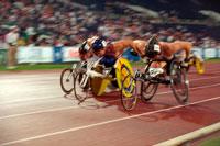 パラリンピックのレース アトランタ アメリカ 1996年