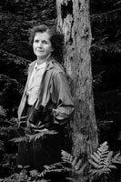 レイチェルカーソンと木 サウスポート アメリカ 1962年