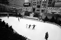 アイススケートを滑る人 NY アメリカ 1996年