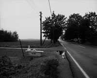 ライプツィヒへ向かう道の風景 1990年 ドイツ