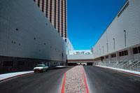青空と道路と建物 2000年 ラスベガス アメリカ