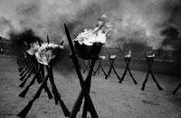 イスラエル兵士追悼式 B/W 1967年 イスラエル