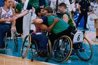 車椅子のバスケットボール パラリンピック 1996年