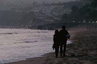 日没のサンタモニカ海岸 サンセット大通り ロサンジェルス 02265013355| 写真素材・ストックフォト・画像・イラスト素材|アマナイメージズ