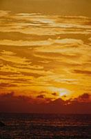 オレンジ色の空 スリランカ 02265015194| 写真素材・ストックフォト・画像・イラスト素材|アマナイメージズ