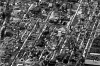 戦争によって破壊された村 1968年 ベトナム