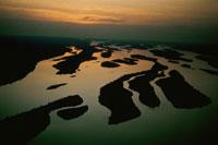 夕暮れのザイール川 ブンバ 02265020988| 写真素材・ストックフォト・画像・イラスト素材|アマナイメージズ