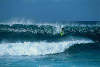 サーフィンと波 ハワイ