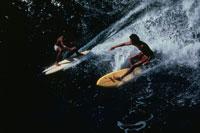 サーフィン ホノルアベイ マウイ ハワイ