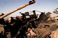 戦争によって破壊されたイラク軍の兵器 2003年