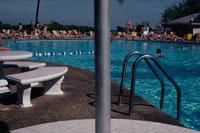 ホテルのプール 1982年撮影