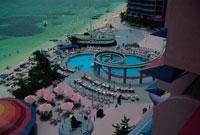 クリスタル・パレス・ホテルのプール 1997年撮影