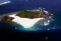 珊瑚礁の島
