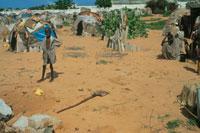 難民キャンプの子供、ソマリア