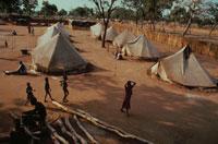 スーダン難民キャンプの子供達、エチオピア