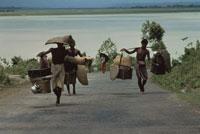 バングラディシュに避難してきたビルマ難民