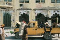 武装した民兵達、ソマリア