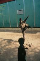 義足の少年、ソマリア