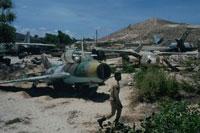 破棄された戦闘機、ソマリア