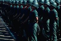 整列した軍隊、エルサルバドル