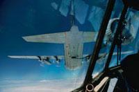 空中給油を受ける飛行機 1984年