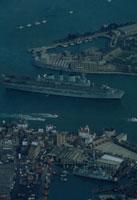 英空母インウ゛ィンシブル ポーツマス イギリス 1982年