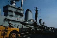 英空母インウ゛ィンシブル フォークランド紛争 1982年