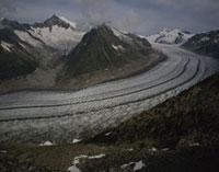 アレッチ氷河