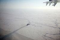砕氷船 空撮