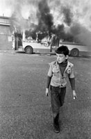GB. NORTHERN IRELAND. Londonderry. Riots on 13th August