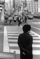 JAPAN. Tokyo. Downtown. 1987.
