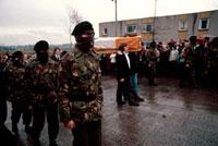 U.K. NORTHERN IRELAND. Belfast. The funeral of Bobby SANDS