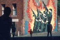 NORTHERN IRELAND. Belfast. Republican Mural. 1985