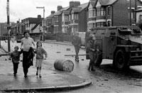 G.B. NORTHERN IRELAND. Belfast. Street scene