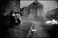 NORTHERN IRELAND. Belfast. Woodvale. Summer evening. 02265039278| 写真素材・ストックフォト・画像・イラスト素材|アマナイメージズ