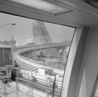 Tokyo. New Waterfront Transit train
