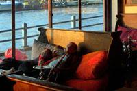 ボスポラス海峡 カフェ 02265039518| 写真素材・ストックフォト・画像・イラスト素材|アマナイメージズ
