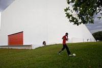オスカー・ニーマイヤー設計のイビラプエラ公園