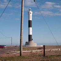 原子力発電所にある灯台