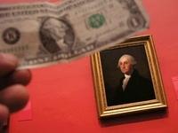 1ドル札とジョージ・ワシントン
