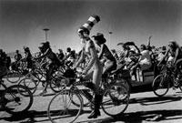 裸の自転車レース