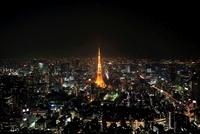 夜の東京タワー
