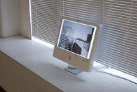 iMacディスプレイと写真