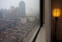 部屋から眺める街並み