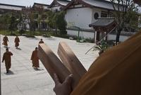 仏教寺院の境内